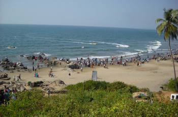 Chapora Beach, North Goa