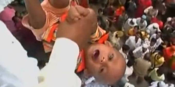 Tossing the Babies in India
